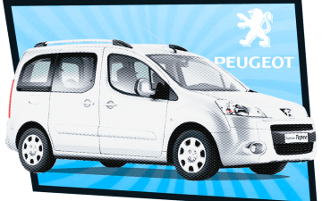 Rent Peugeot Partner Tepee